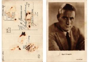 CPA Syd Chaplin -Iris Verlag foto 5645 FILM STAR (555328)
