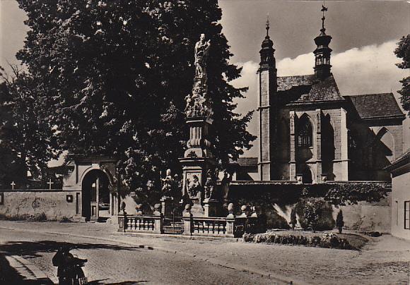 Czech Republic Kutna Hora goticka hrbitovni kaple s kostnici Photo