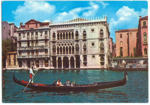 Italy, VENEZIA, Venice, Ca d'Oro, unused Postcard