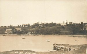 Deer Isle ME Harbor View Homes On The Hill Photo Postcard