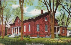 Indiana Richmond The Museum 1954 Curteich