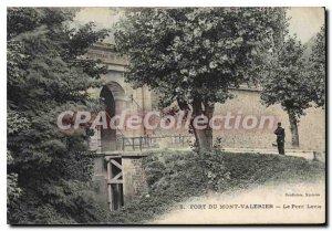 Mont Valerien Postcard Old Fort Levis Bridge