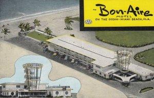 MIAMI BEACH , Florida , 1930-40s ; Bon-Aire Motel