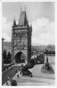 Czech R. Praha, Staromestska mostecka vez, Prague, Bridge Tower, Old City