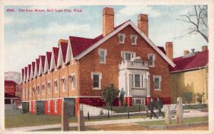 The Lion House, Salt Lake City, Utah, Early Postcard, Unused
