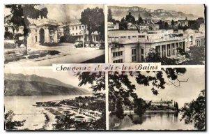 Aix les Bains - Souvenir Postcard Old