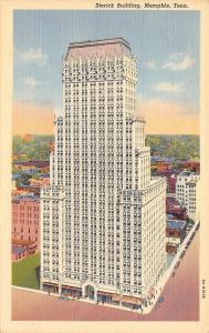Memphis Tennessee~Sterick Building~1940 Postcard