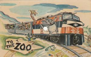 School Party Zoo Train Phonograph Record Giraffe Music Phonographs Novelty