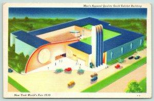 New York City~World's Fair~Men's Apparel Quality Guild Exhibit Building~1940s