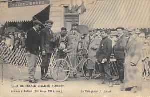 Arrivee a Belfort Tour De France Cycliste Unused