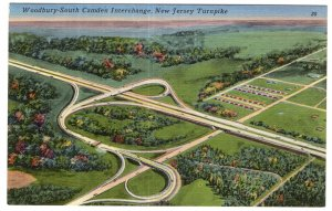 New Jersey Turnpike, Woodbury - South Camden Interchange