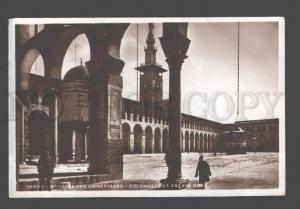 088935 SYRIA Damas Mosquee des Ommeyyades Colonnade et facade
