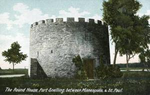MN - Fort Snelling, The Round House