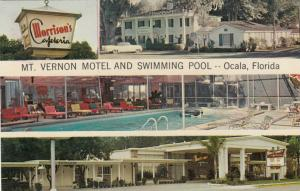 OCALA, Florida, PU-1970; Mt. Vernon Motel and Swimming Pool