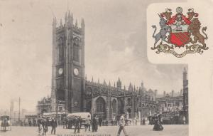 MANCHESTER , UK , 1908 ; Coat of arms , The Cathedral