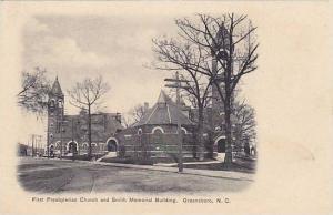 First Presbyterian Church and Smith Memorial Building, Greensboro, North Caro...