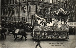 CPA PARIS - Mi-Caréme 1908 (81282)