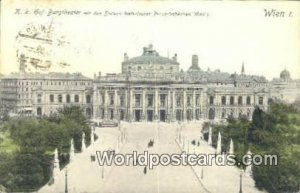 KK Hot Burgtheater Wien - Vienna Austria Postal Used Unknown