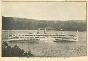 Steamer, Alexander Hamilton, Hudson River Day Line