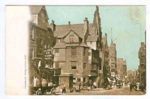 John Knox's House, McLeod's Netherbow Hotel, Edinburgh, Scotland, UK, 1900-1910s