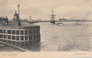 GOOLE , Yorkshire, England , UK , 1911 ; Tide Time