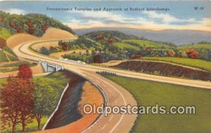Pennsylvania Turnpike Bedford Interchange 1953