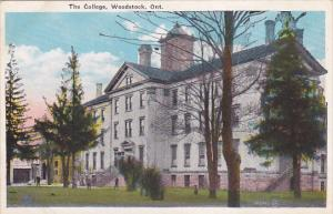 The College , WOODSTOCK , Ontario , Canada , 1910-20s