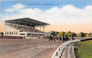 Trotting Track Lexington, Kentucky, KY, USA Unused