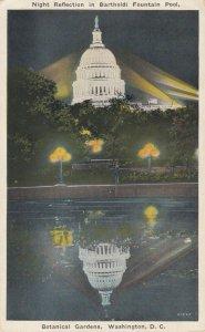 WASHINGTON D.C., 1910-1930s; Night Reflection