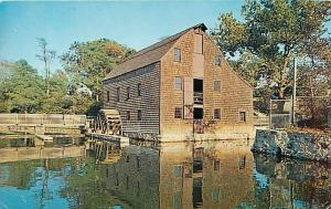 Saddle Rock Grist Mill Long Island NY New York Chrome