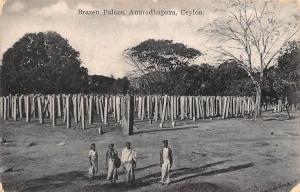 Sri Lanka Ceylon, Anuradhapura, Brazen Palace 1943