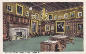 Executive Chamber at State Capitol - Albany NY, New York - WB