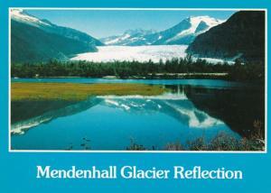 Alaska Juneau Mendenhall Glacier and Auke Lake 1997