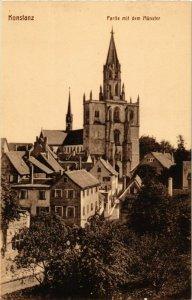 CPA AK Konstanz Partie mit dem Munster GERMANY (892922)