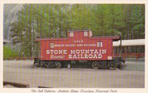 Trains The Red Caboose Stone Mountain Scenic Railroad Chattanooga Tennessee