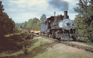 Dierks Forests Railway Number 226 Baldwin Locomotive 2-8-2 Wright City Oklahoma