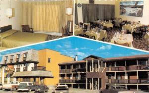 Whitehorse Yukon Canada~Ben-Elle Motel on Main Street~3 Views~70s Trucks/Cars~Pc