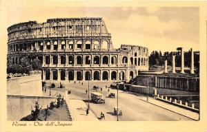 Italy Roma Via dell'Impero, bus auto cars voitures, Colosseum