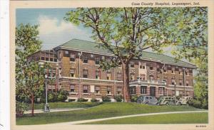 Indiana Logansport Cass County Hospital Curteich