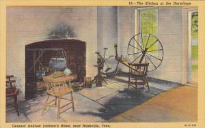Kitchen At Hermitage General Andrew Jackson's Home Near Nashville Tennessee C...