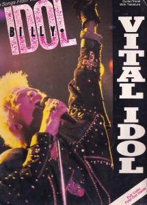 Billy Idol Generation X Large Rare XL Guitar Sheet Music Album Book