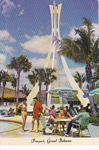 Bahamas Kings Inn Pool Area Freeport Grand Bahama