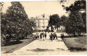CPA Tours-Le Jardin des Prébendes d'Oé (266151)