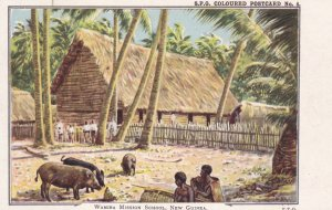 Wamira Mission School , NEW GUINEA , 00-10s