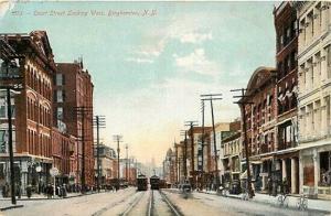 NY, Binghamton, New York, Court Street, No. 1073