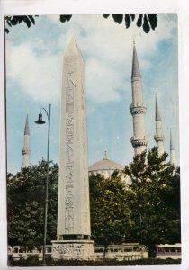 ISTANBUL, Sultanahmet, Egyptian Obelisk, used Postcard