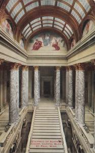 ST. PAUL, Minnesota, 1900-10s; Stairway of Supreme Court, Capitol Bldg.