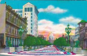 Cuba Havana Marti or Prado Promenade 1969