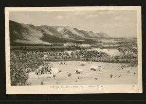 Canada Sunrise Valley Cabot Trail Nova Scotia S17 Vintage Postcard Unposted