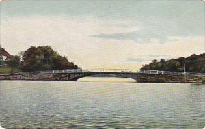 Connecticut New Haven Lake Whitney & Bridge